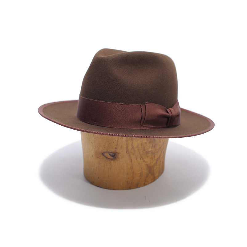 Long Brim Fedora Hat