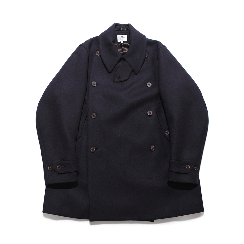 Doublecloth Melton Coat