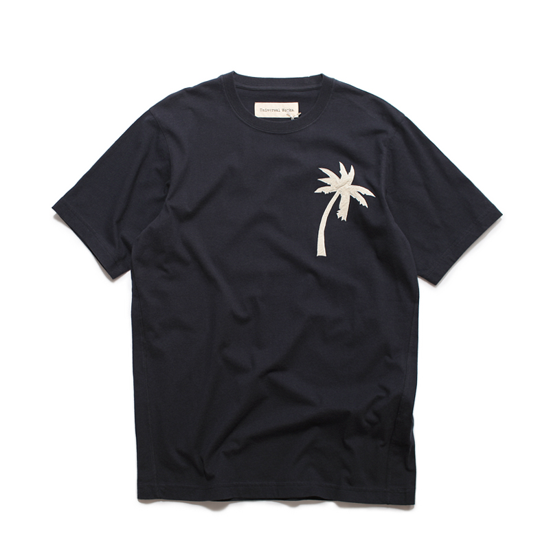 Single Jersey Embroidered Tee