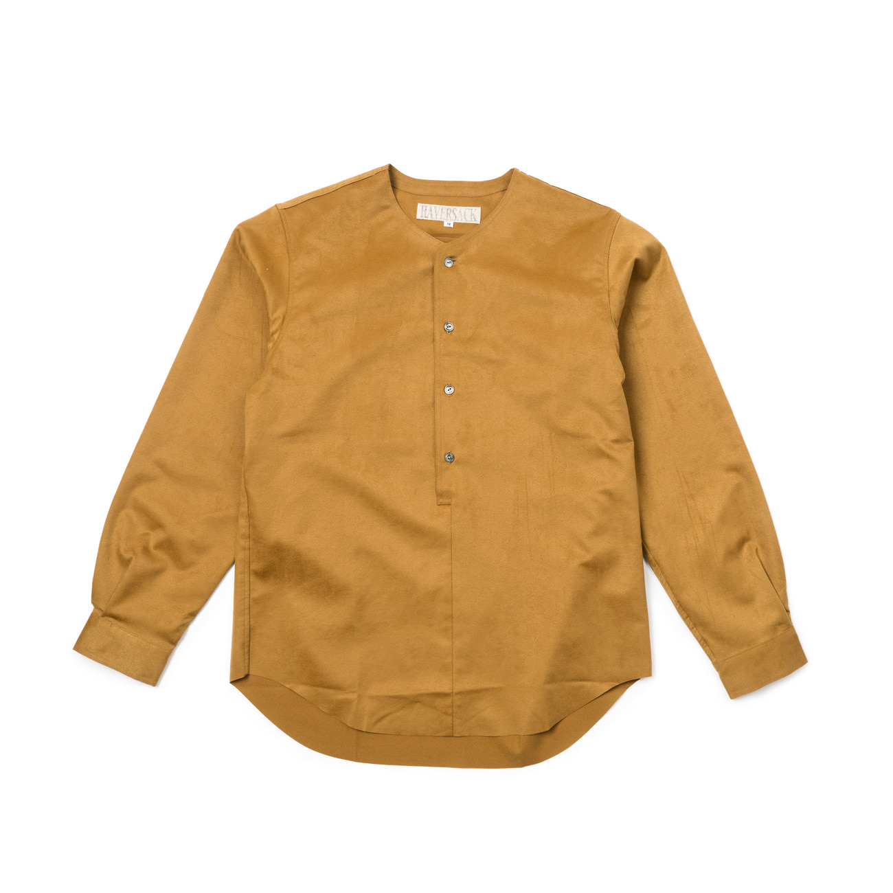 Synthetic Leather Suede Shirt