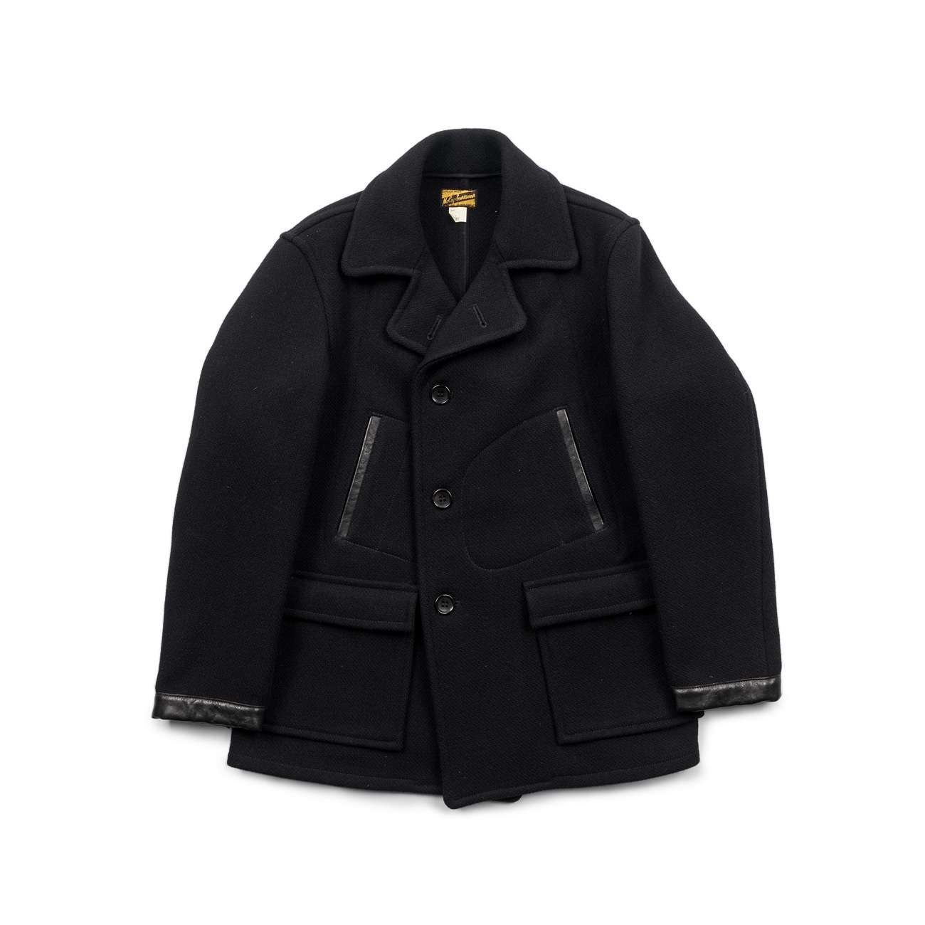 Four Pocket Wool Work Coat