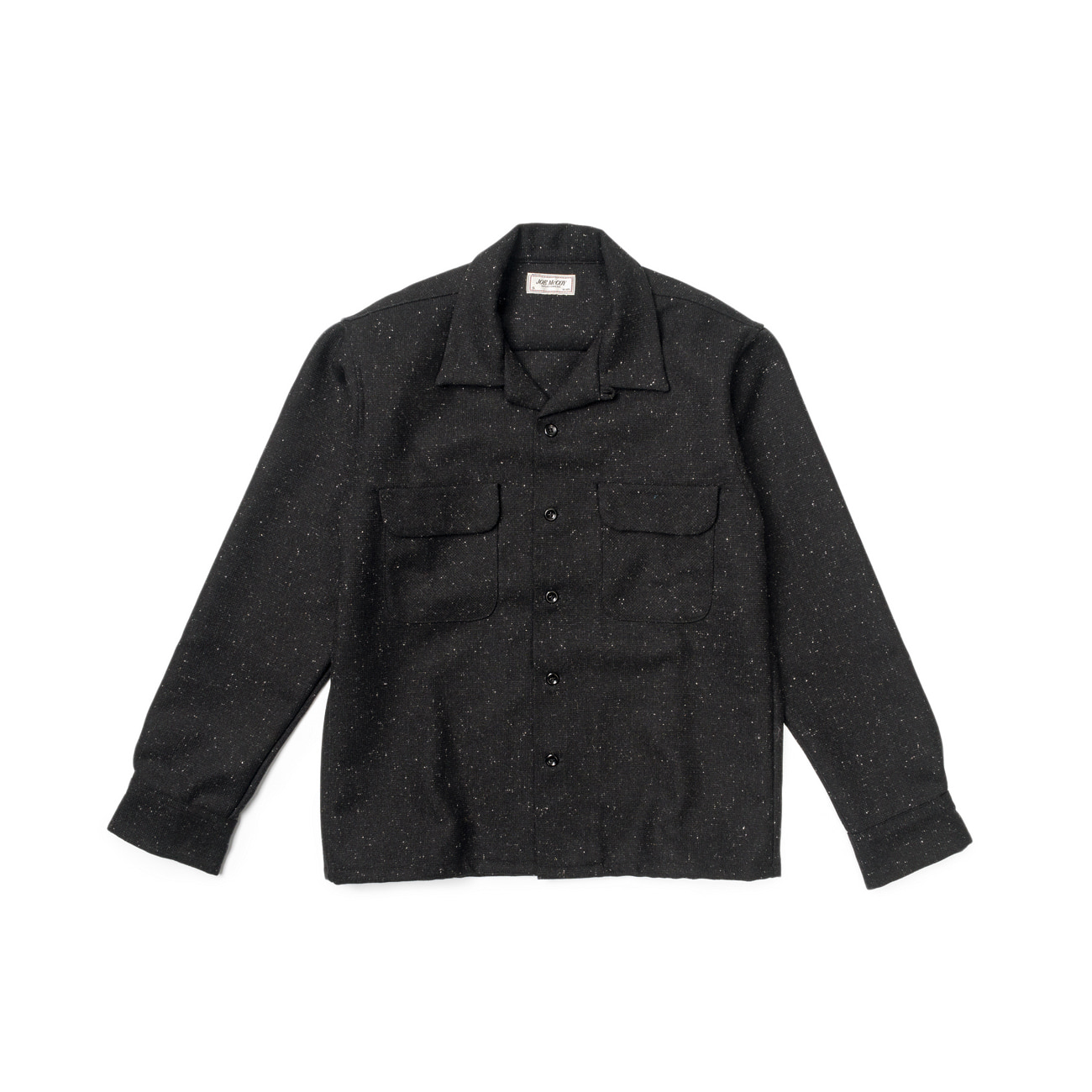 Freck Nep Open Collar Shirt