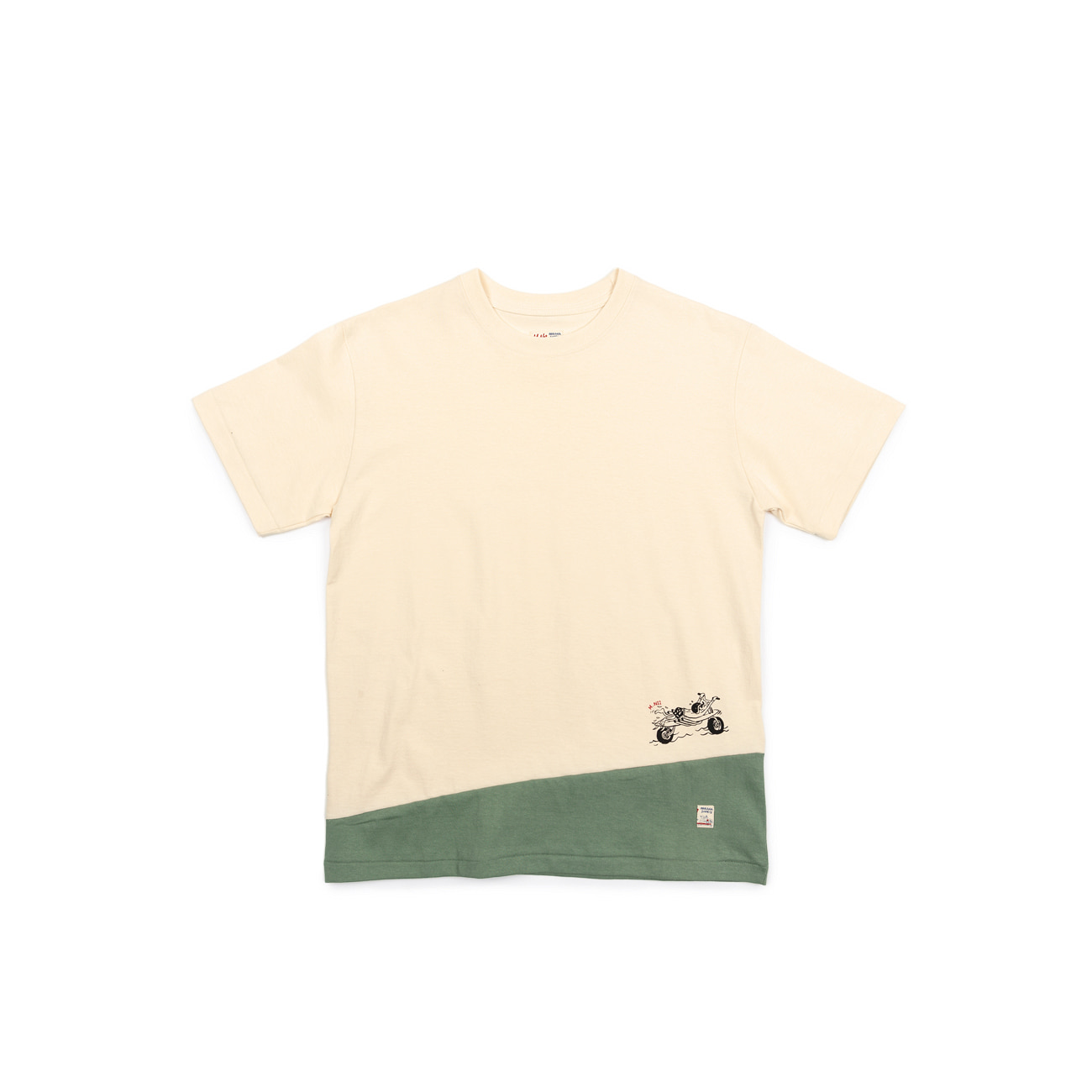 Motorsurf Two Tone Tee
