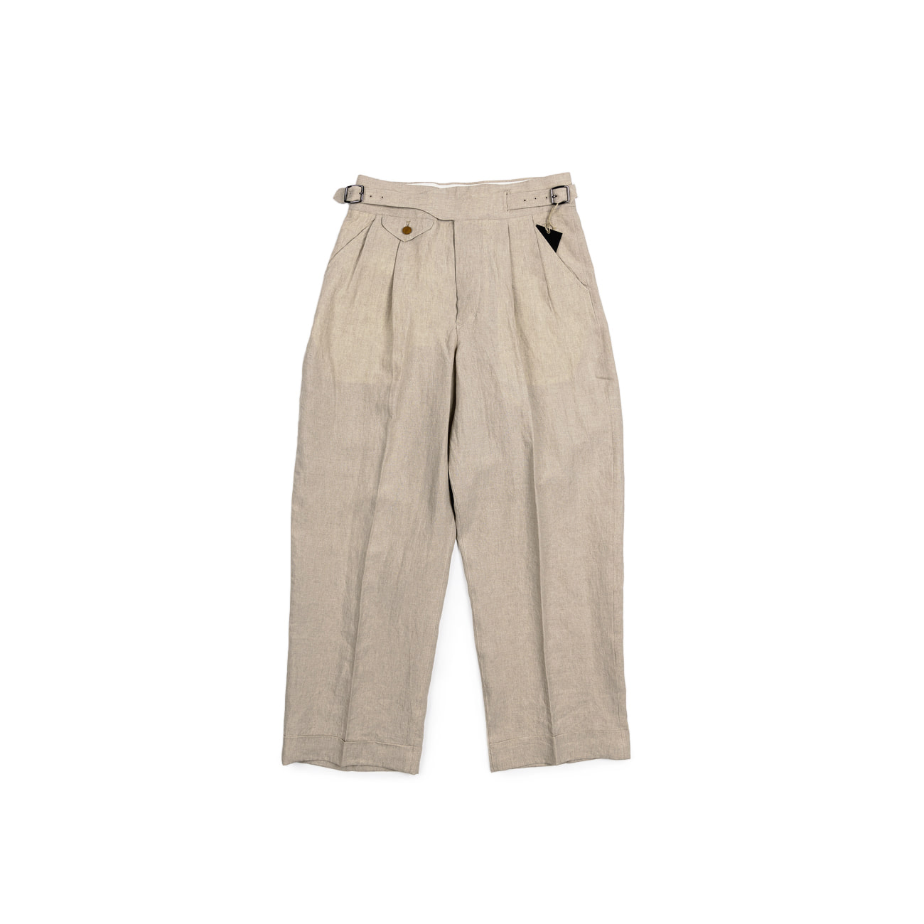 High Density Linen Gurkha Pants