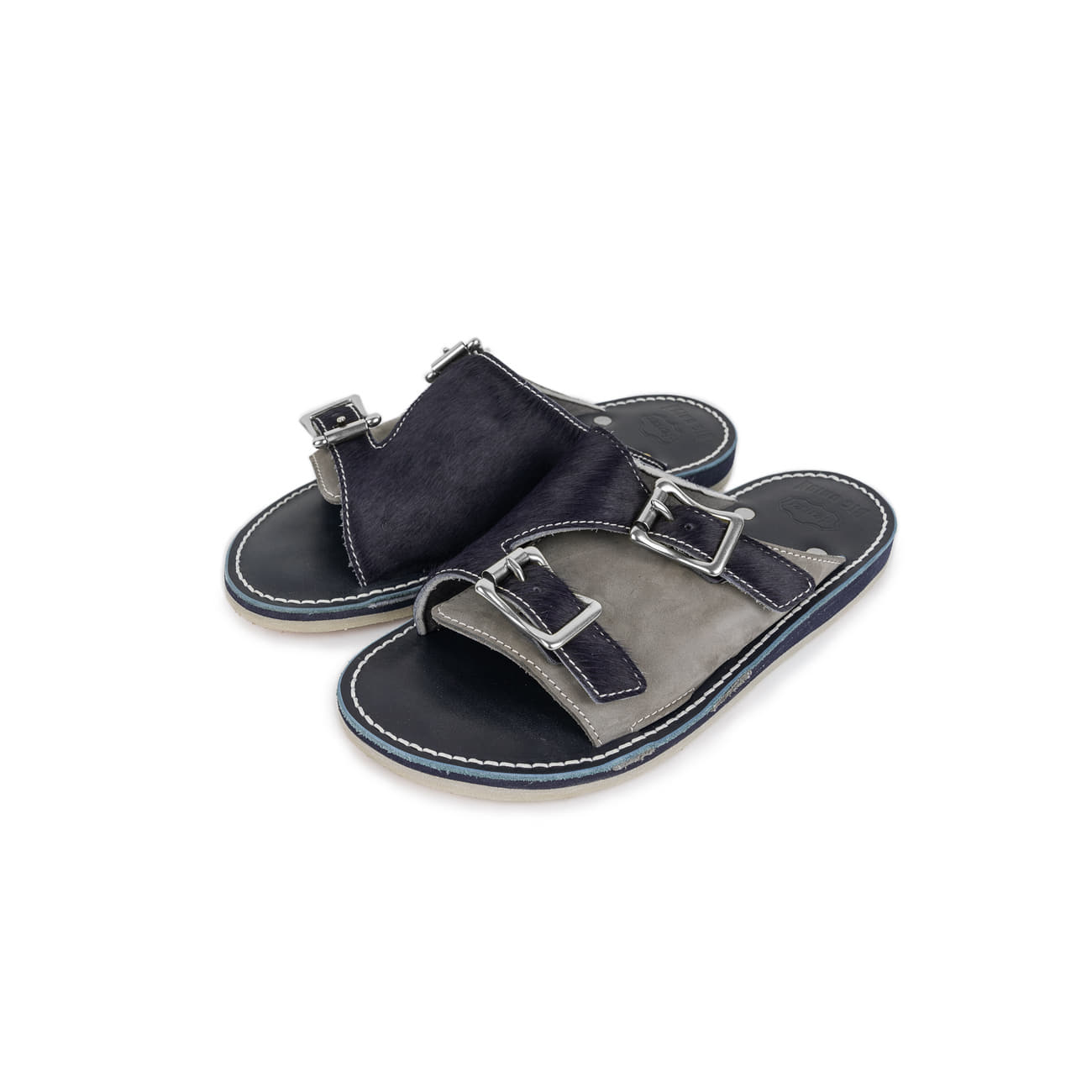 Nickel Buckle Sandal