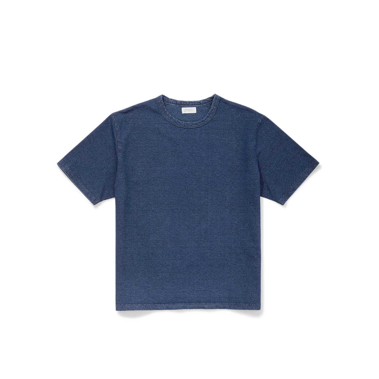 Elliot Indigo‑Dyed T-Shirt