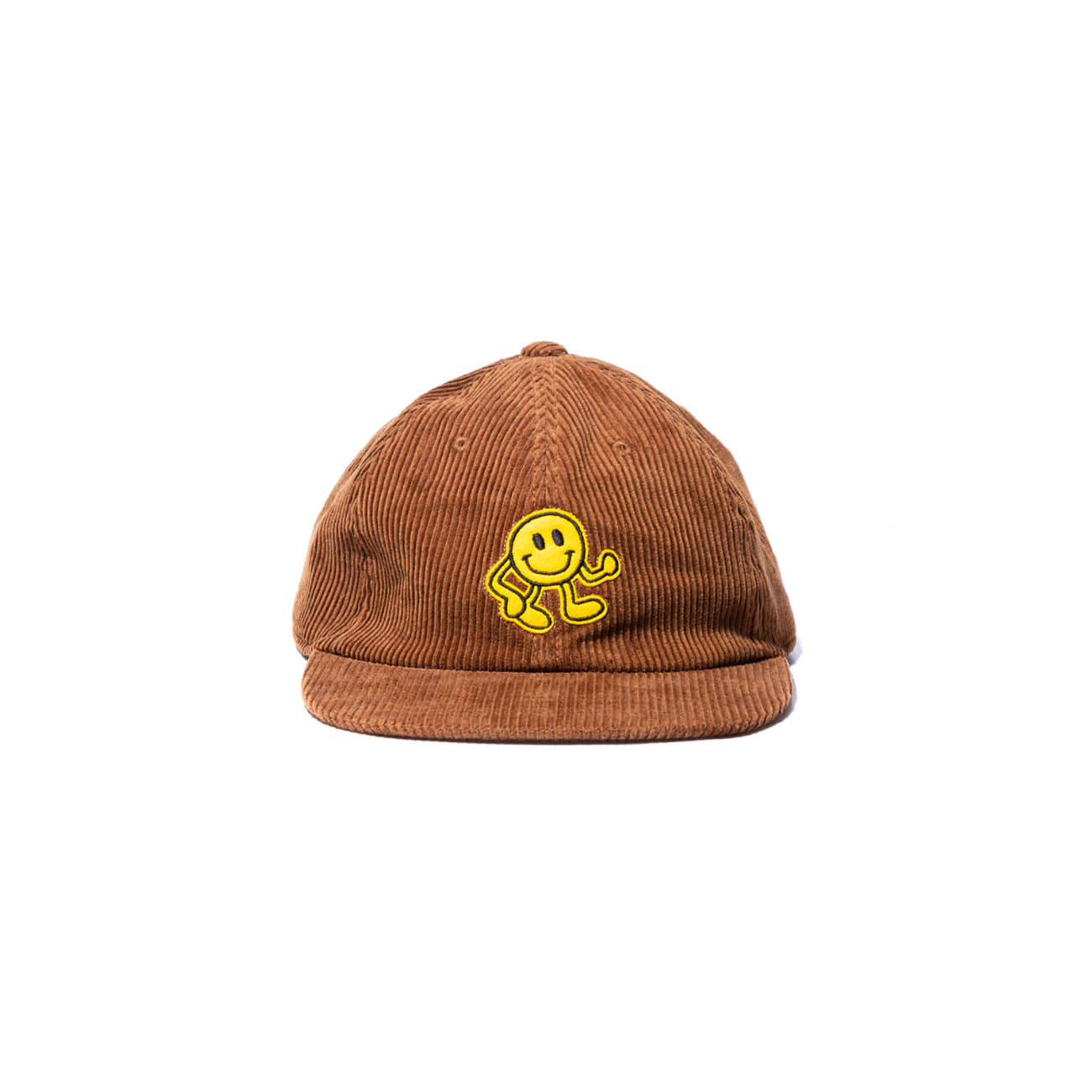 Dancing Smile Fat Corduroy Cap