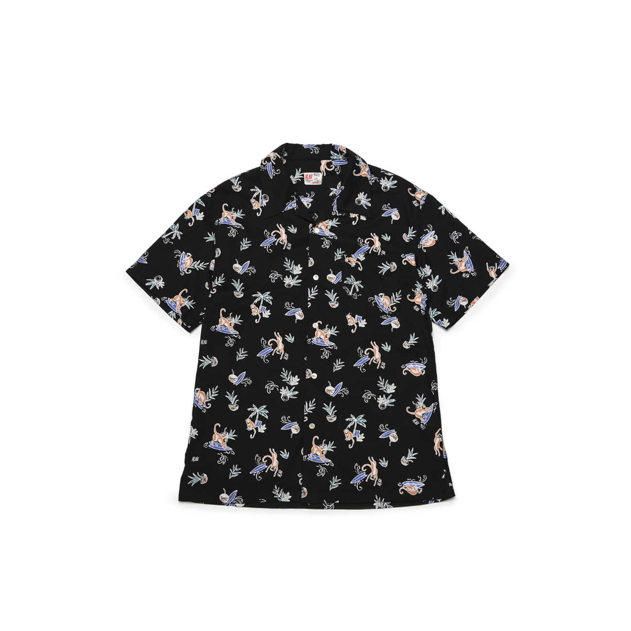 Monkey Surf Aloha Shirts