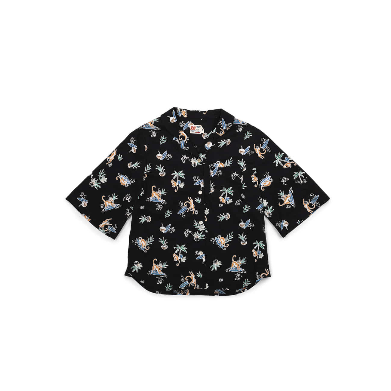 W.Monkey Surf Aloha Shirts