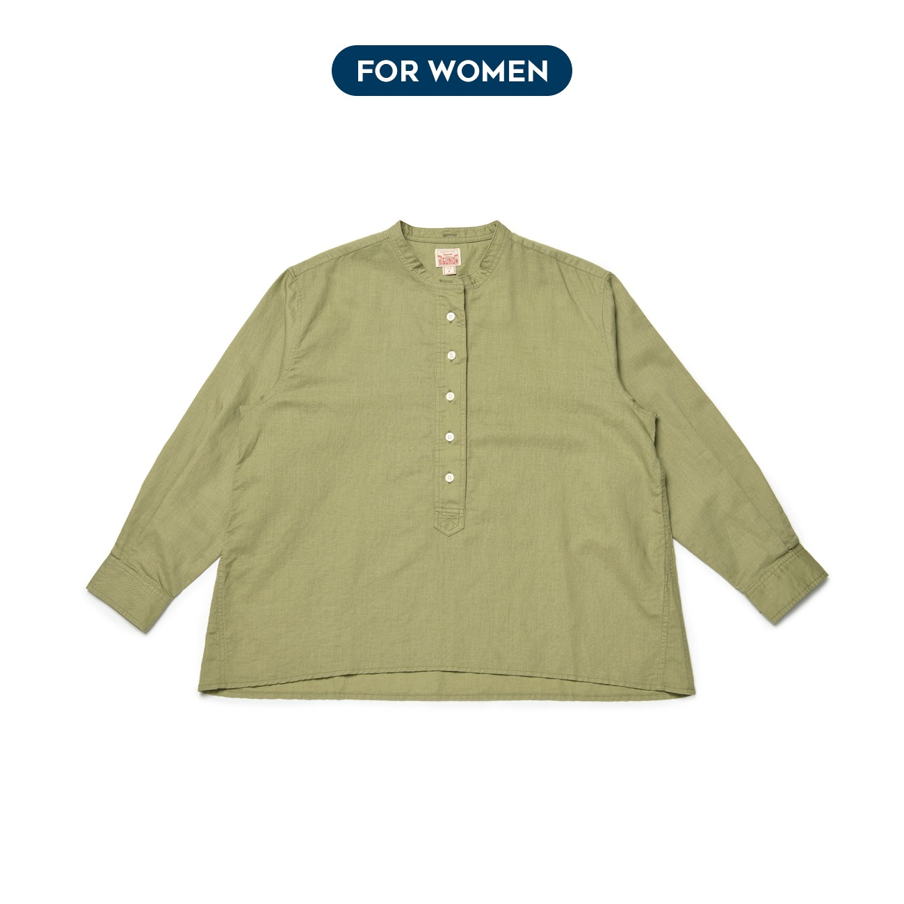 [For Women] Linen Pullover Shirts