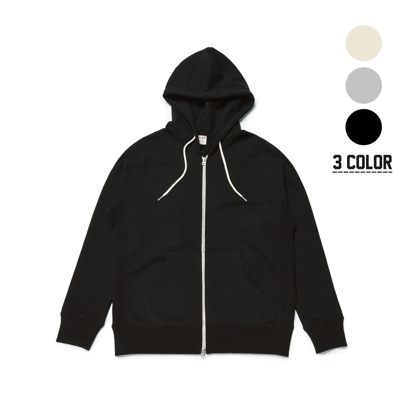 89 Zip Up Hood [3 Color]
