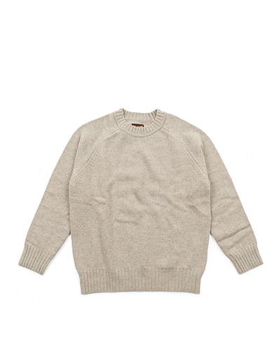 Wool Crew Neck Knit