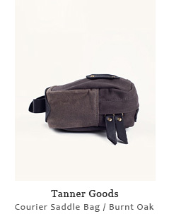 Courier Saddle Bag