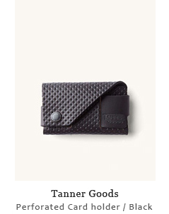 Perforated Card holder