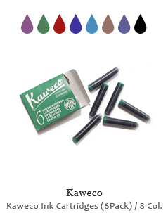 Kaweco Ink Cartridges (6 Pack)