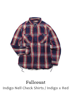 Indigo Nell Check Shirts