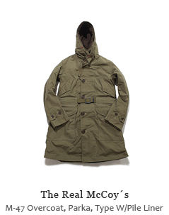 M-47 Overcoat, Parka, Type W/Pile Liner