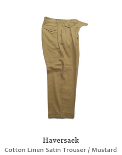 Cotton Linen Satin Trouser