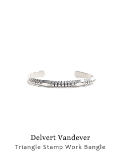 Triangle Stamp Work Bangle