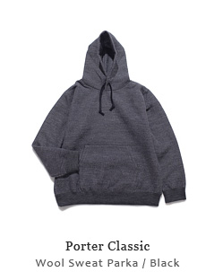 Wool Sweat Parka