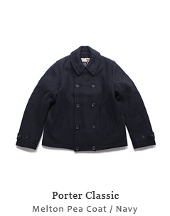 Melton Pea Coat