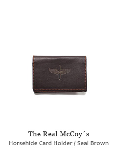 McCoy´s Horsehide Card Holder