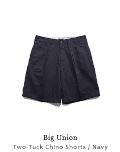 Two-Tuck Chino Shorts