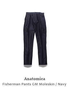 Fisherman Pants GM Moleskin