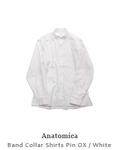 Band Collar Shirts Pin OX