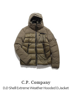 D.D Shell Extreme Weather Hooded Down Jacket