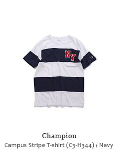 Campus Stripe T-shirt (C3-H344)