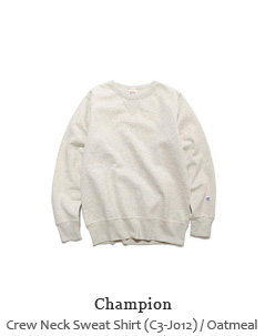 Crew Neck Sweat Shirt (C3-J012)