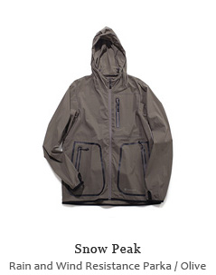 Rain and Wind Resistance Parka