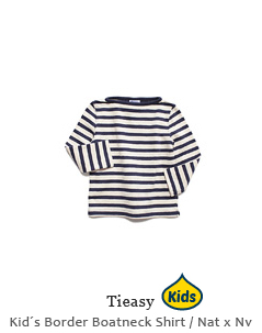 HDCS Kid´s Border Boatneck Shirt