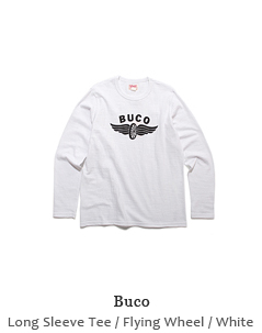 Long Sleeve Tee / Flying Wheel
