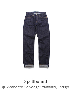 5P Ahthentic Selvedge Standard