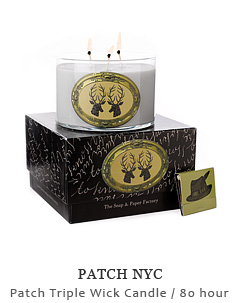 Patch Triple Wick Candle