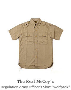 "Regulation Army Officer's Shirt ""wolfpack"""