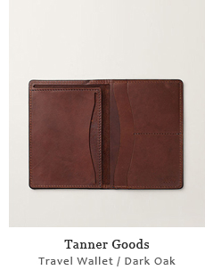 Travel Wallet - Dark Oak
