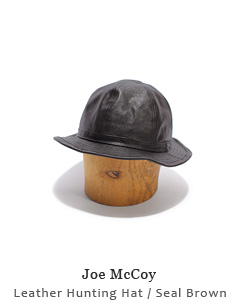 Leather Hunting Hat