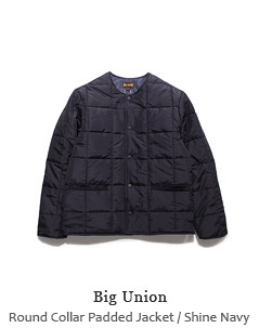 Round Collar Padded Jacket