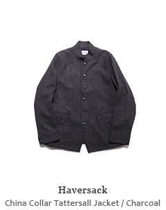 China Collar Tattersall Jacket