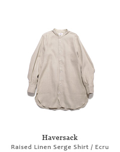 Raised Linen Serge Shirt
