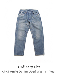 5PKT Ancle Denim Used Wash