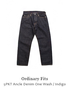5PKT Ancle Denim One Wash