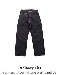 Farmers 5P Denim One Wash