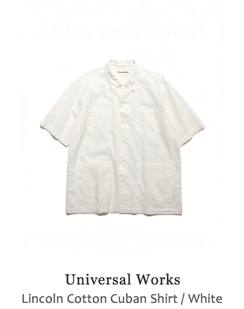 Lincoln Cotton Cuban Shirt