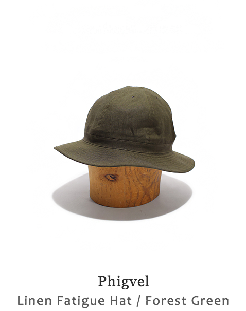 Linen Fatigue Hat