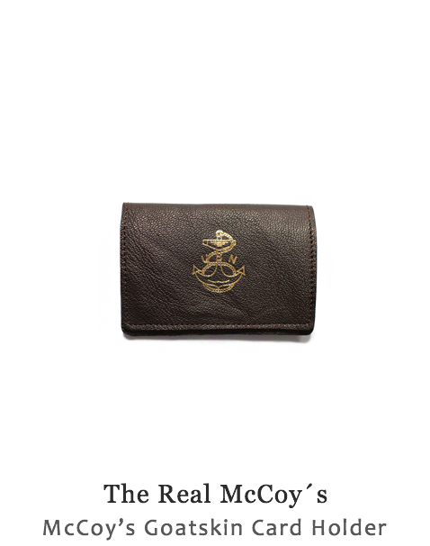 McCoy's Goatskin Card Holder
