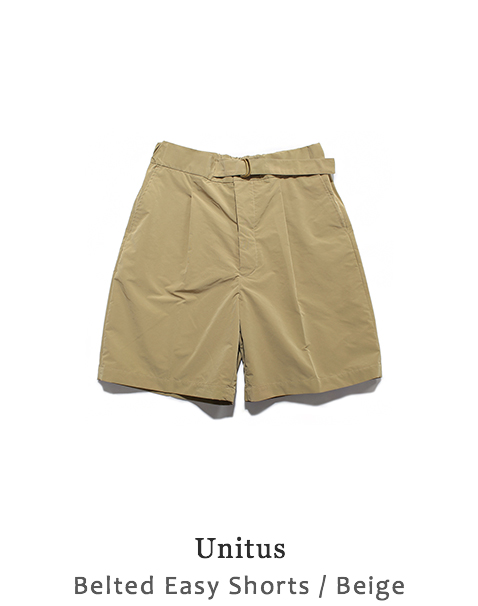 Belted Easy Shorts